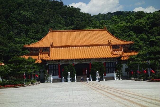 台北 定番観光地 忠烈祠