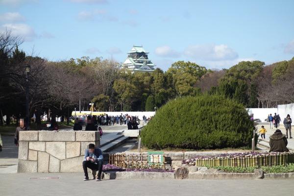 大阪城のアクセス4