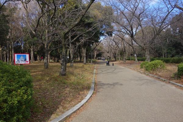 大阪城までの景色2