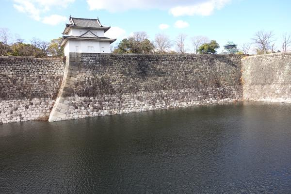 大阪城までの景色4