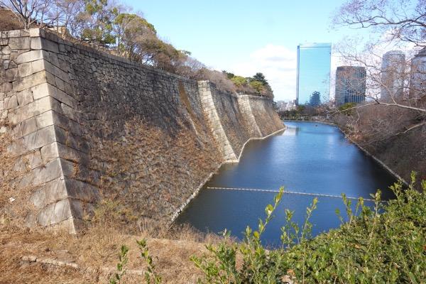 大阪城までの景色3