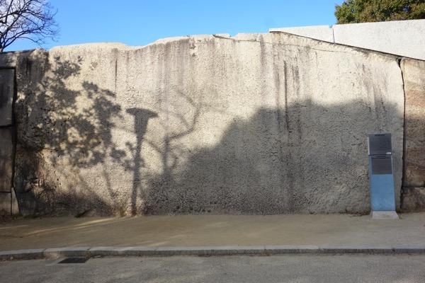 大阪城の巨石1