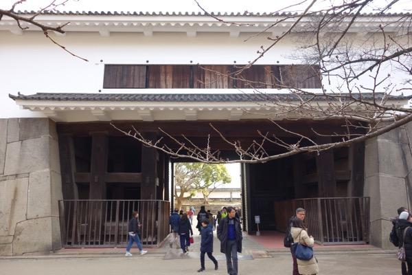 大阪城の門3