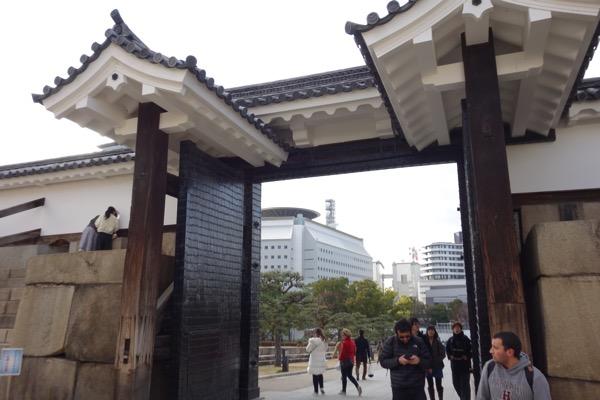 大阪城の門6