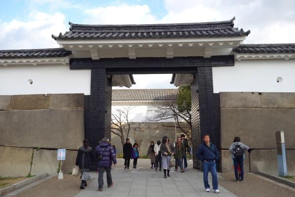大阪城の門8