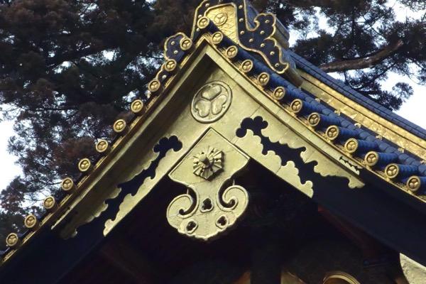 日光東照宮の「葵の御紋」1