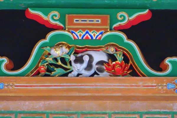 日光東照宮の「眠り猫」
