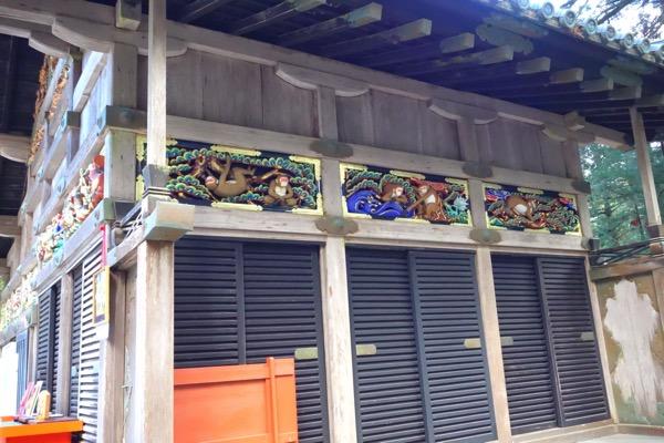 日光東照宮の猿2