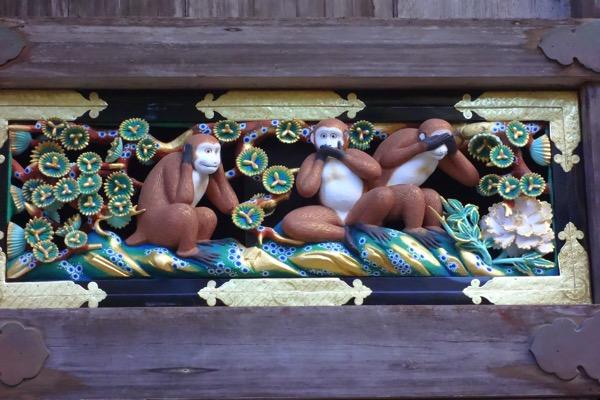 日光東照宮の猿3