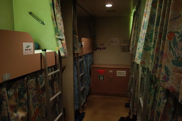 愛媛〜大阪オレンジフェリーの2等寝台