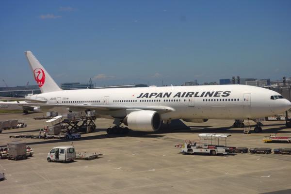 羽田空港から神戸へ出発