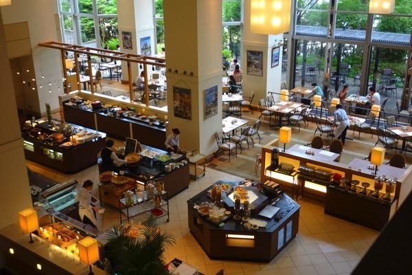 神戸ベイシェラトンの朝食