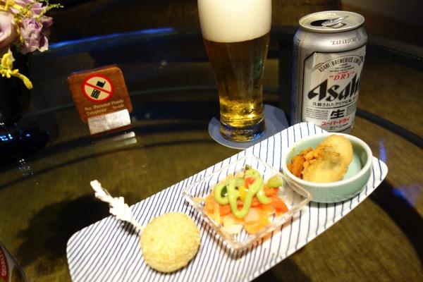神戸ベイシェラトンのラウンジ