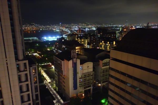 神戸ベイシェラトンの夜景