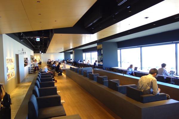 羽田空港-パワーラウンジ2