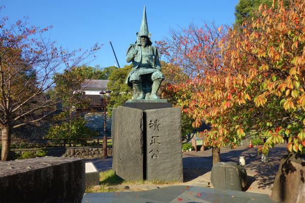 熊本城 加藤清正像
