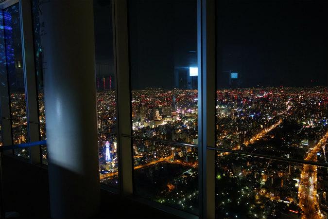 大阪マリオット都ホテルの宿泊特典であべのハルカス