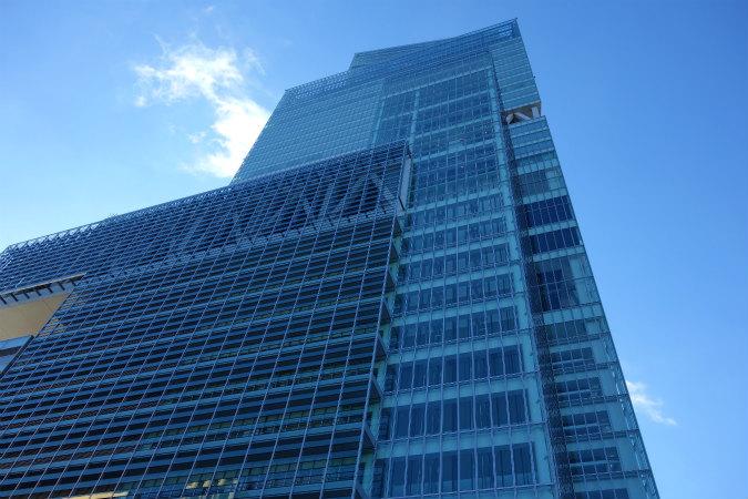 大阪マリオット都ホテルの外観