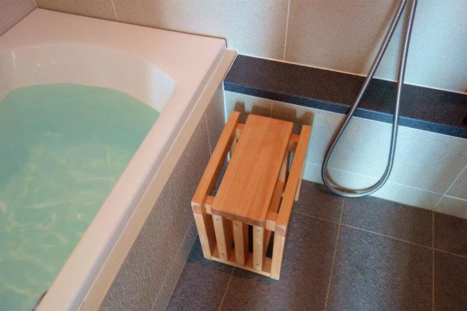 大阪マリオット都ホテル、コンフォートルームのお風呂